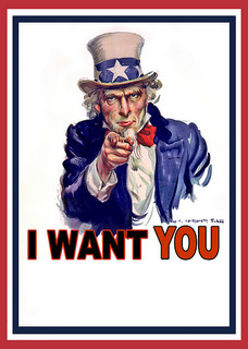 Bildnachweis: Uncle Sam I Want You - Poster | DonkeyHotey | CC BY 2.0