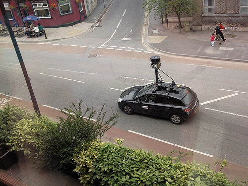 Bildnachweis: Google Street View Car in Bristol | byrion | CC BY 2.0
