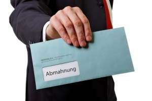 File sharing: client receives two warning letters for one piece of music © MS-Fotodesign-Fotolia