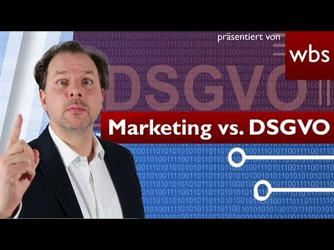 "YouTube-Video: ""DSGVO: Rechtliche Fallstricke im Onlinemarketing"""