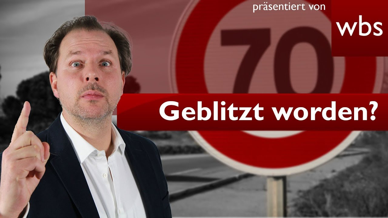 Link zum YouTube Video - Geblitzt - Was tun?
