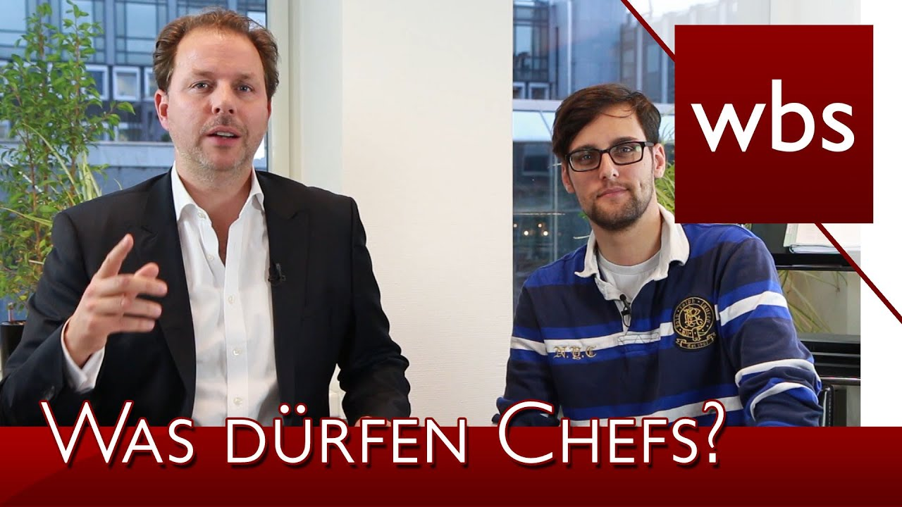 "YouTube-Video: ""Was Chefs nicht dürfen"""