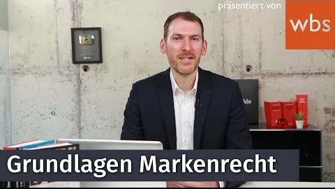 YouTube-Video zum Thema Grundlagen Markenrecht