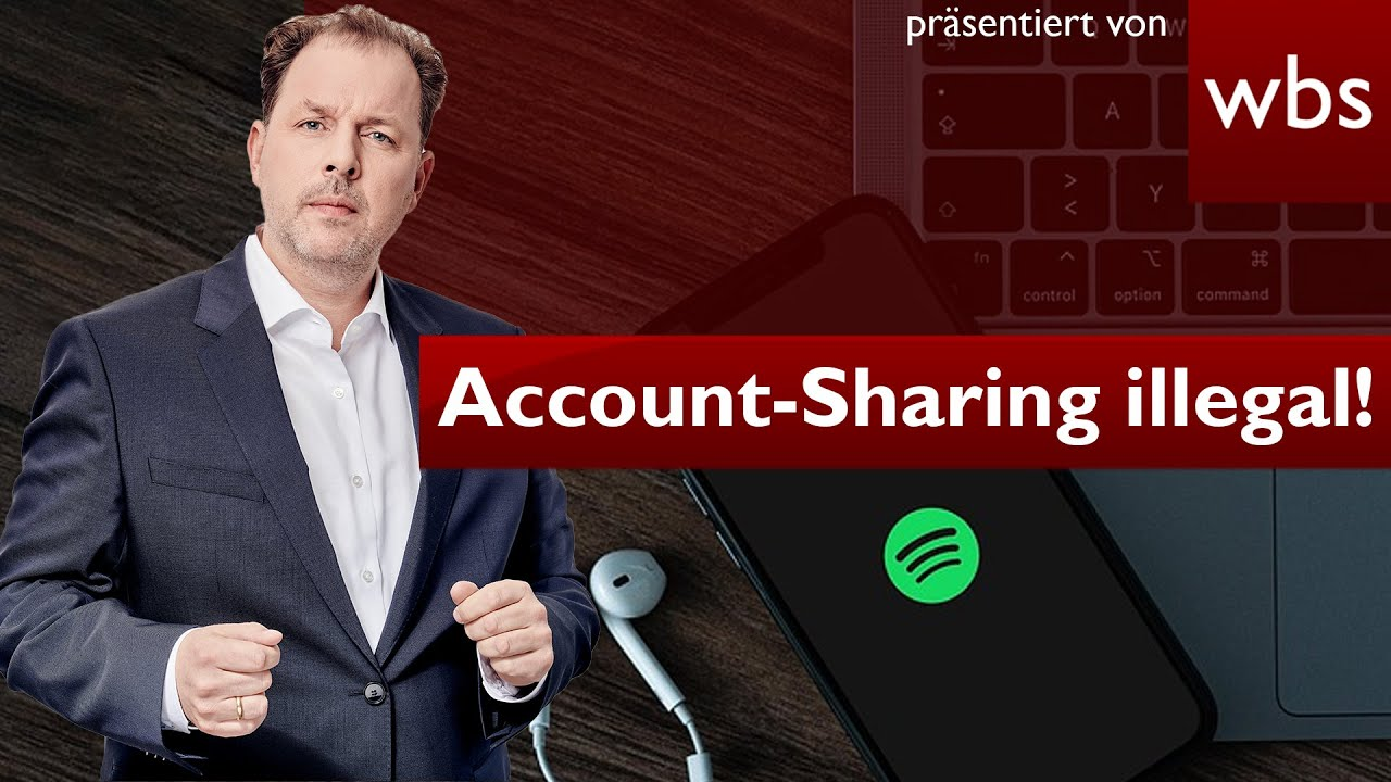 Account-sharing illegal